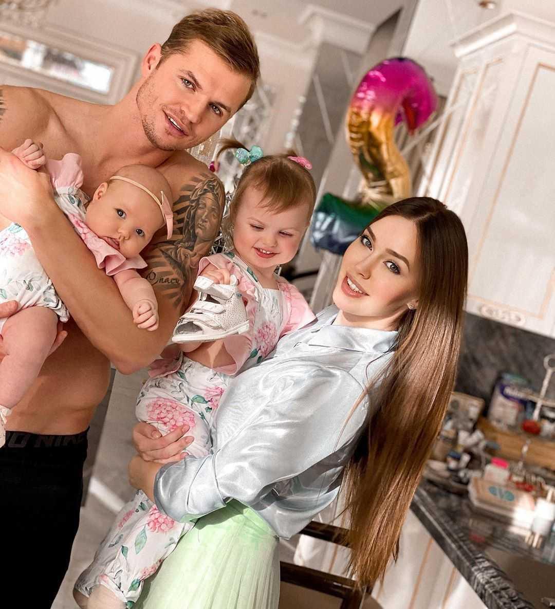 Анастасия Костенко встала на защиту мужа в вопросе в деле об алиментах