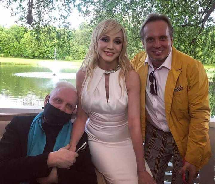 Борис Моисеев впервые за долгое время вышел в свет